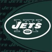 New York Jets NFL Lunch Napkins - 16 Pack