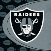 Oakland Raiders NFL Lunch Napkins - 16 Pack