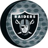 """Oakland Raiders NFL 9"""" Paper  Plates - 8 Pack"""