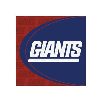 NEW YORK GIANTS   LUNCHEON NAPKINS