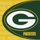 Green Bay Packers Luncheon Napkins - 16 Pack