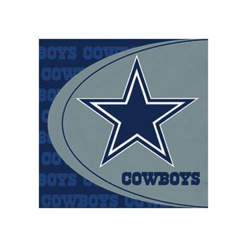 DALLAS COWBOYS   LUNCHEON NAPKINS