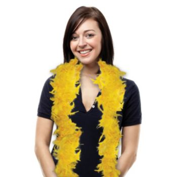 Gold Feather Boa - 6 Foot