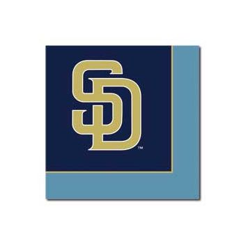SAN DIEGO PADRES   LUNCHEON NAPKINS