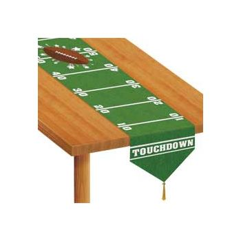 "Football Field   72"" Table Runner"