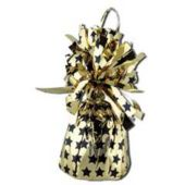 Gold And Black Star Balloon Weight