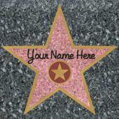 "Walk Of Fame 11"" Stars - 12 Pack"
