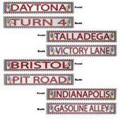 Raceway Street Signs-4 Pack