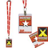 Vip Party Pass On A Lanyard