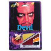Devil Face Paint Kit