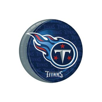 "TENNESSEE TITANS   9"" PLATES"