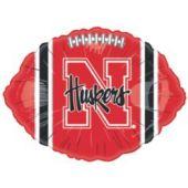 """Nebraska Cornhuskers Metallic 18"""" Balloon"""
