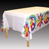 Woodstock Tie Dye Table Cover