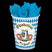 Oktoberfest 9 Oz Cups - 8 Pack