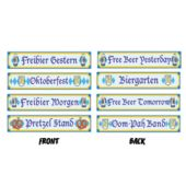 Oktoberfest Sign Cutouts-4 Pack