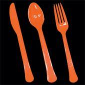 Orange Plasticware
