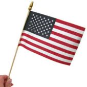 "American Flags 4"" X 6"" - 12 Pack"