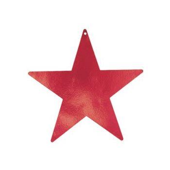 RED STAR   FOIL CUTOUTS