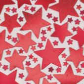 Red Star Confetti