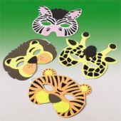 Animal Masks - 12 Pack