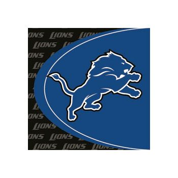 DETROIT LIONS  LUNCH NAPKINS