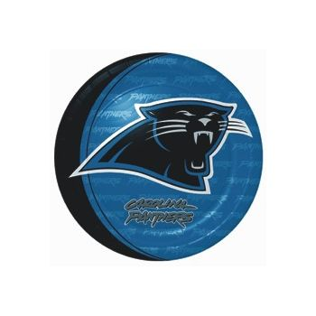 "CAROLINA PANTHERS   9"" PLATES"
