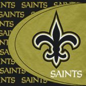 New Orleans Saints Lunch Napkins - 16 Pack