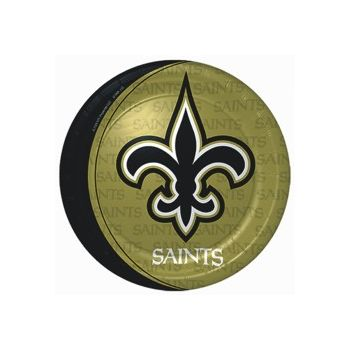 "NEW ORLEANS SAINTS   9"" PLATES"