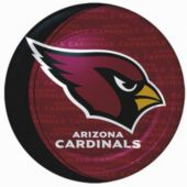 "Arizona Cardinals 9"" Plates - 8 Pack"