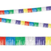 Multi Color Fringe Garland Decoration