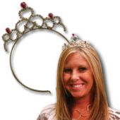 Princess Tiara Headbands-12 Pack