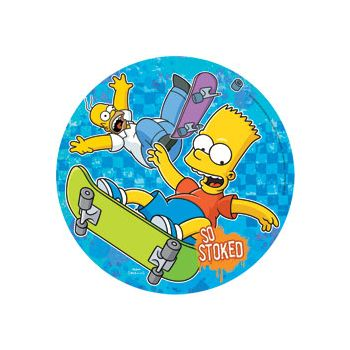 "THE SIMPSON'S   10"" PLATES"