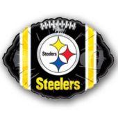 "Pittsburgh Steelers Football Metallic 18"" Balloon"