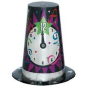 New Year Clock Top Hat