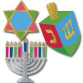 Hanukkah Decorating Kit - 10 Pack