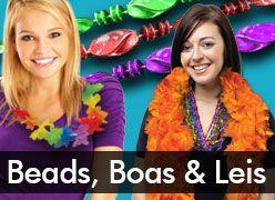 Beads, Boas, & Leis
