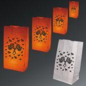 Checkered Flag Luminary Bags - 50 Pack