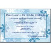 Winter Snowflake   Personalized Invitations