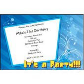 Let's Party Personalized Invitations