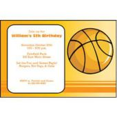Hoop Dreams Personalized Invitations