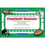 Football Field Custom Invitations