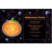 Halloween Pumpkin Personalized Invitations
