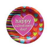 "Hip Hearts 7"" Plates - 8 Pack"