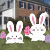 Easter Bunny Lawn Decoration Kit