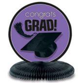 """Purple Graduation Centerpiece-10"""""""