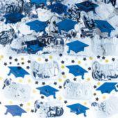Blue Graduation Confetti