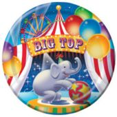 "Big Top Circus 9"" Plates - 8 Pack"
