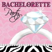 Bachlorette Beverage Napkins - 16 Pack