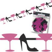 Martini & Heels Garland Decoration