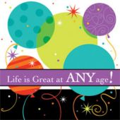 Life Is Great Lunch Napkins - 16 Pack